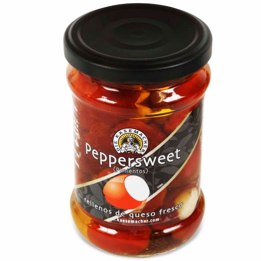 Pimientos dulces rellenos de queso 250grs Die Kasemasher - Andorra MarketPlace