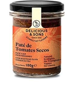 Paté de Tomates Secos 180grs Delicious & Sons - Andorra MarketPlace