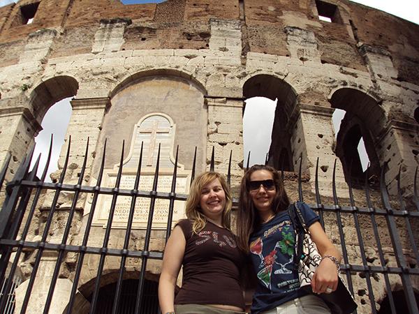 Andorreando Coliseo Romano