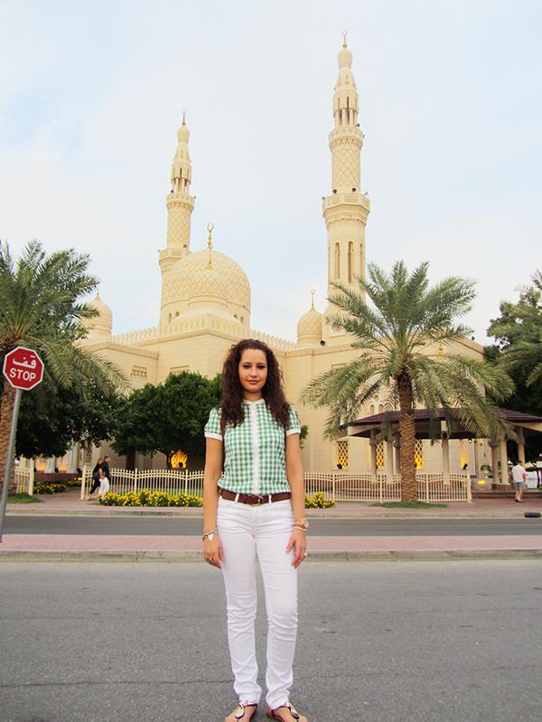 Mezquita de Jumeirah Dubái.