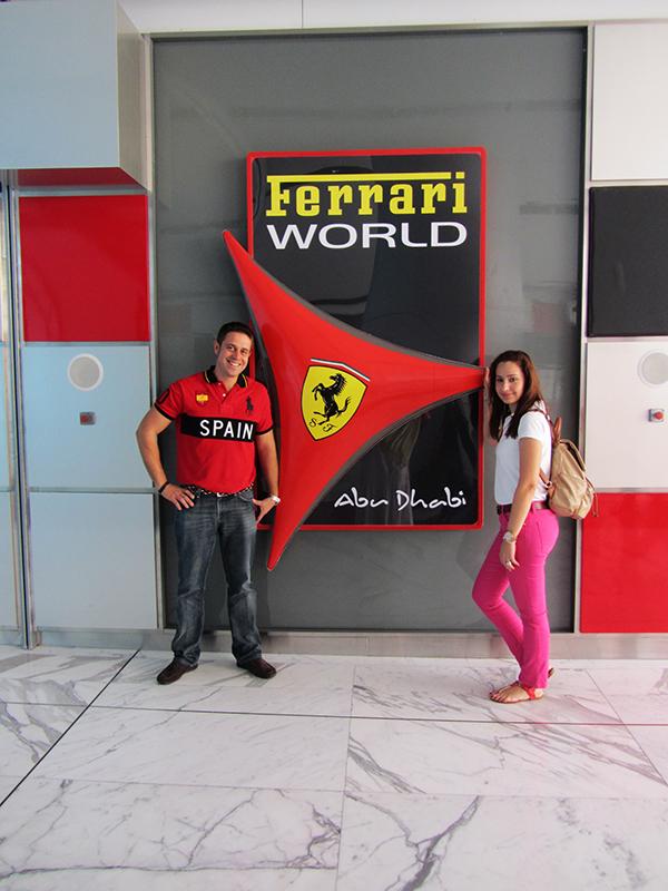 Parque Temático Ferrari World Abu Dhabi