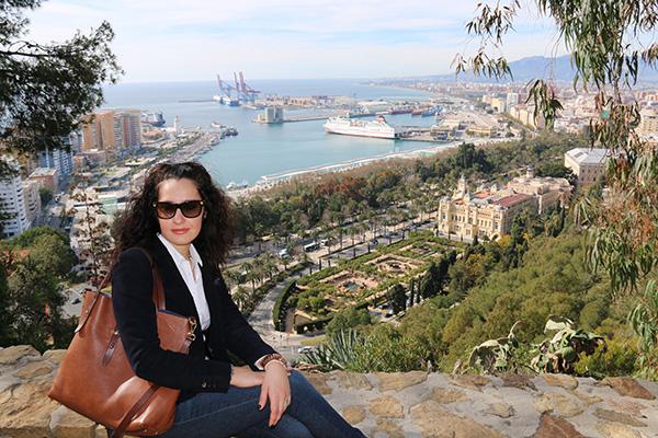 vista panoramica de Málaga