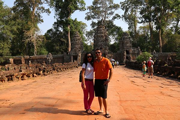 entrada Templo Preah Khan