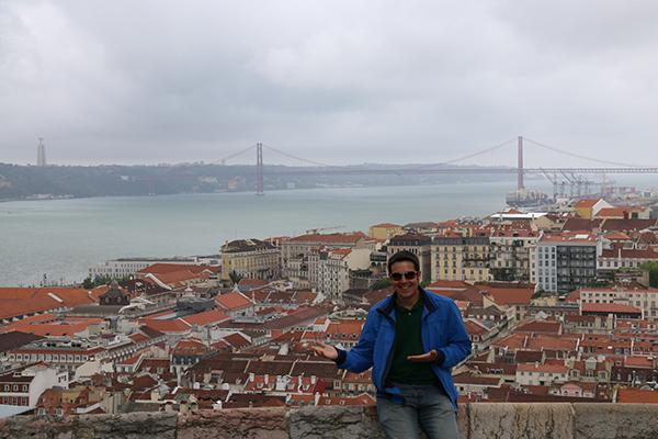 Panoramica Lisboa