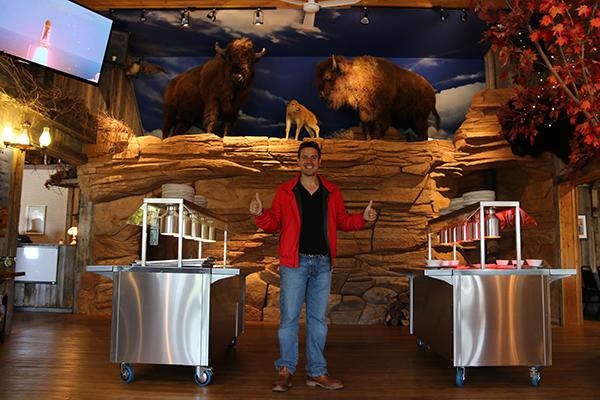 restaurant granja bisontes
