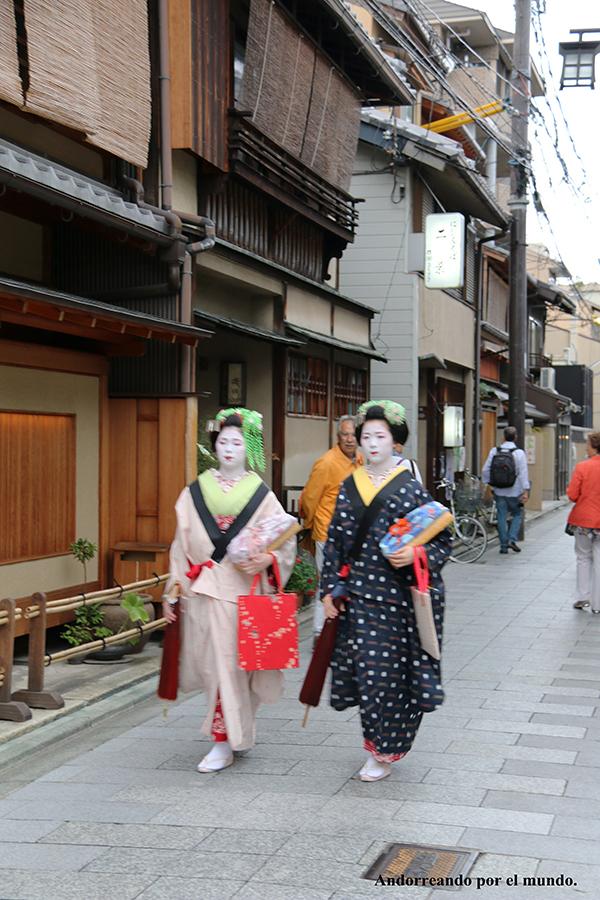 Chicas Geishas