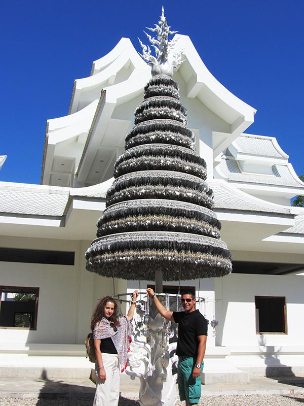 Jardín Wat Rong Kun