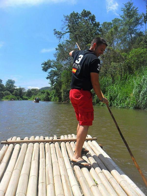 Balsa bambú