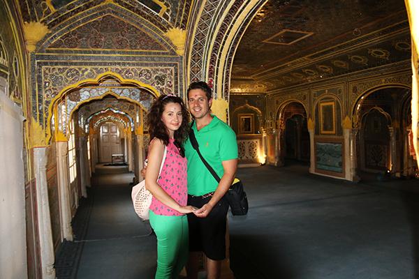 Interior Palacio de Samode India