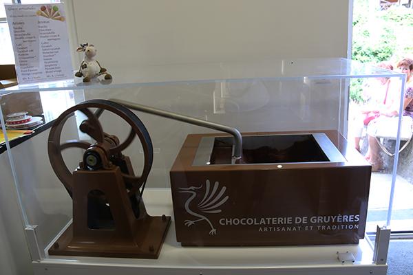 fabrica chocolate