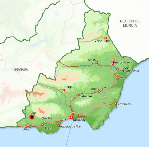 Andorreando Mapa Berja