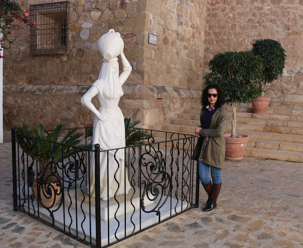 Estatua Mojaquera