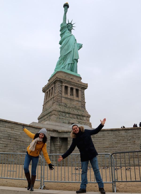Andorreando Estatua Libertad