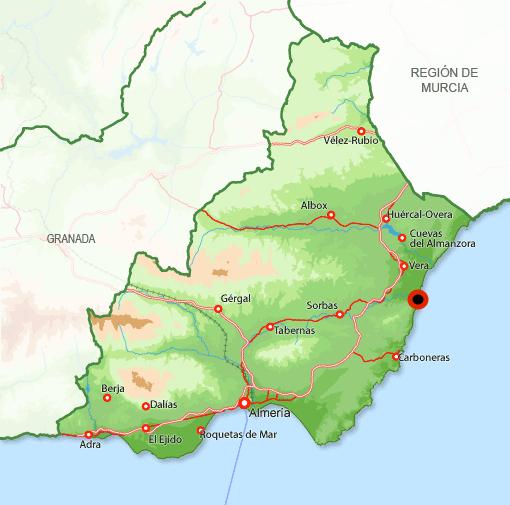 Andorreando Mapa Garrucha