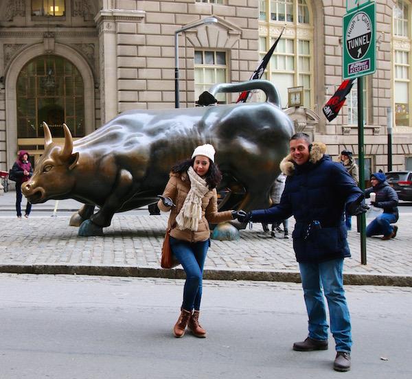 Andorreando Toro Wall Street