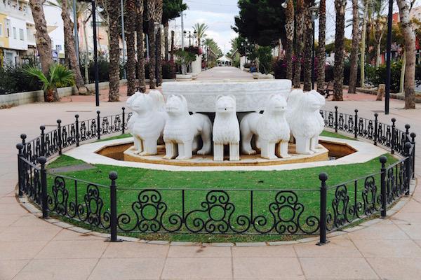 fuente leones Alhambra