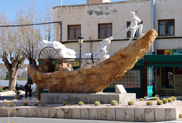 Escultura Arriero