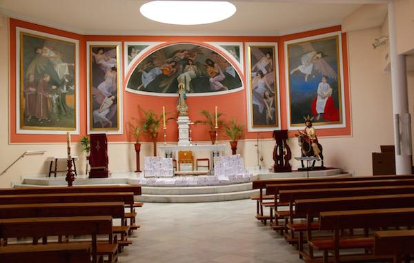 Interior Parroquia Concepción
