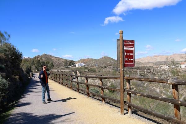 Vía Verde Lucainena de las Torres.