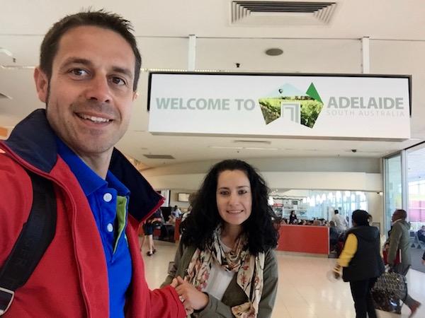 Aeropuerto Adelaida-Andorreando por el Mundo