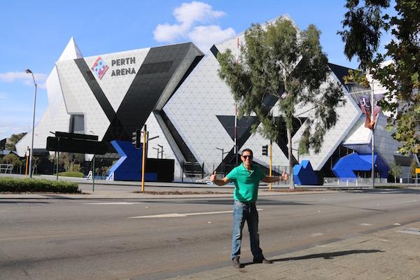 Perth Arena-Andorreando por el Mundo