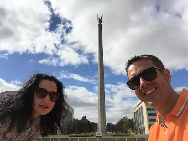 Australia America Memorial-Andorreando por el Mundo