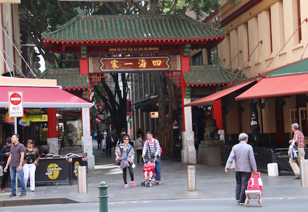 Barrio Chinatown Sidney-Andorreando por el Mundo