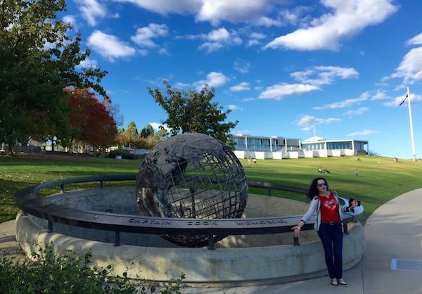 Capitan Cook Memorial- Andorreando por el Mundo