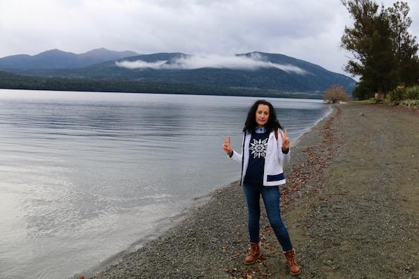 Lago Te Anau- Andorreando por el Mundo