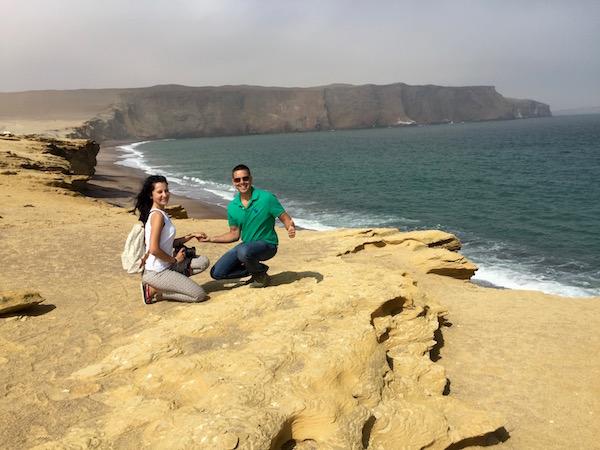 Playa Roja-Andorreando por el Mundo