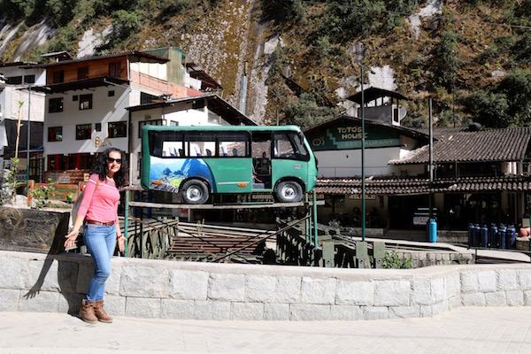 Autobuses para Machu Picchu