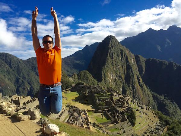 Jump Zona Arqueológica Machu Picchu