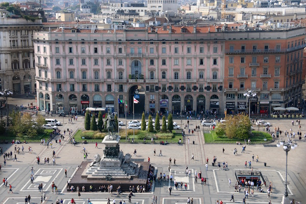 Vistas Plaza Duomo