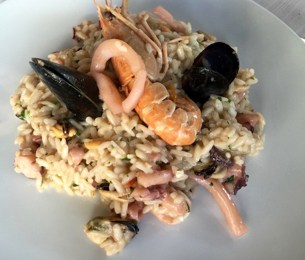 Arroz Frutos Mar