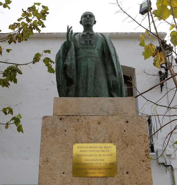 Estatua Diego Ventaja
