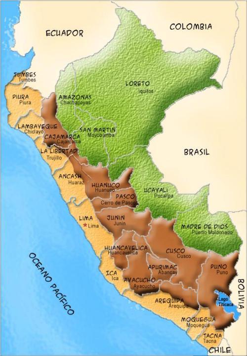 Mapa Perú