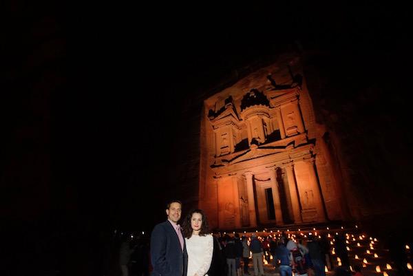 Petra de Noche.