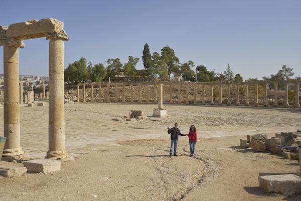Plaza Ovalada Jerash