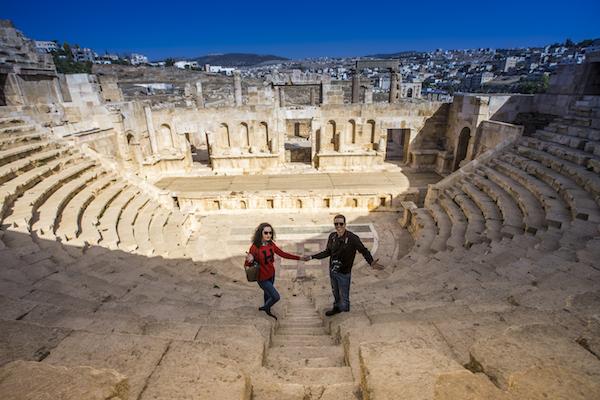 Teatro Norte Jerash
