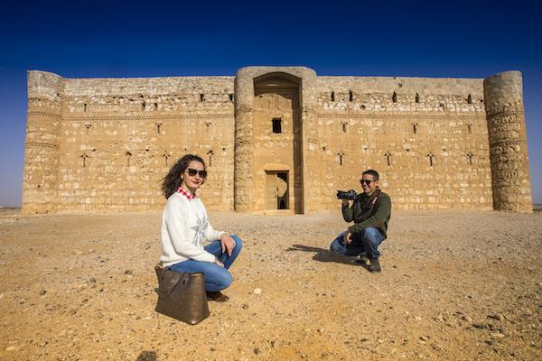 el castillo de Qasr al Kharana