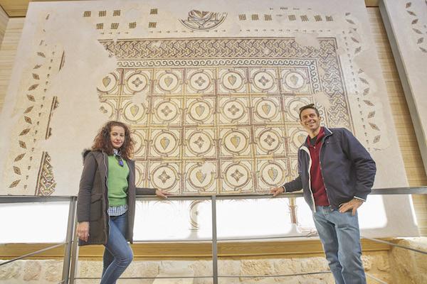 mosaicos iglesia Monte Nebo