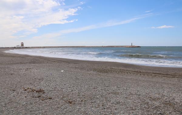 Playa Poniente Almerimar.