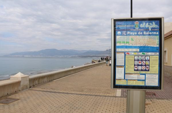 Playa de Balerma.