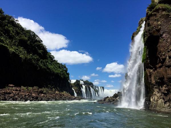 Cañón río Iguazú