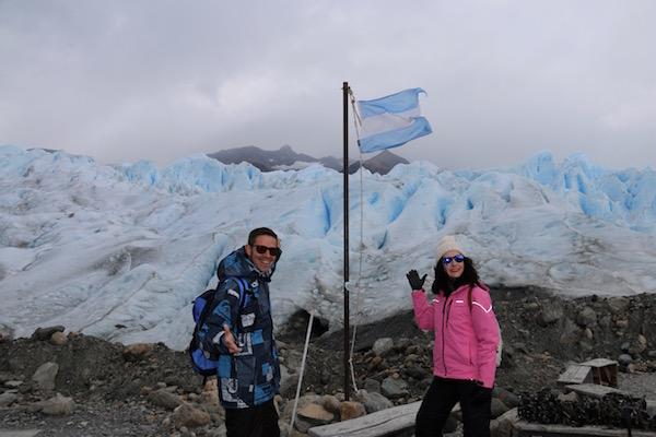 Comienzo Trekking Perito Moreno