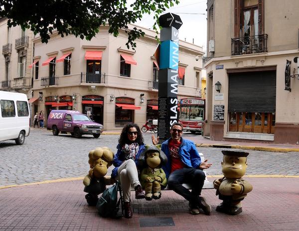 Escultura Mafalda