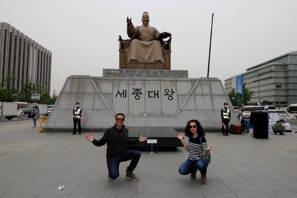 Estatua Rey Sejong