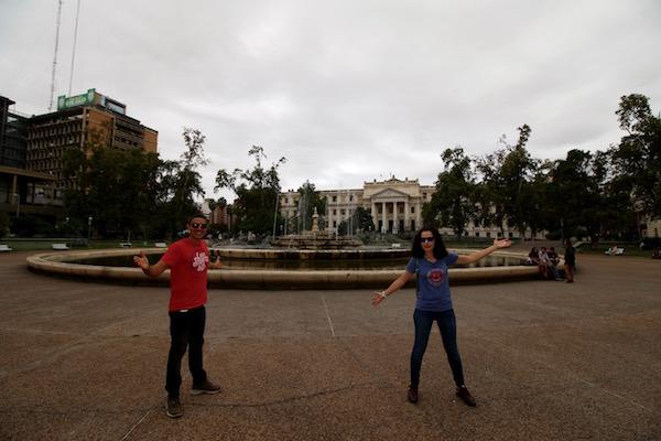 Al fondo Palacio Justicia