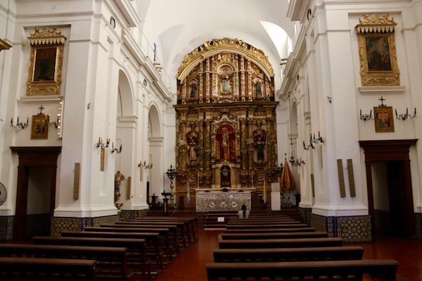 Interior Basílica Nuestra Señora del Pilar
