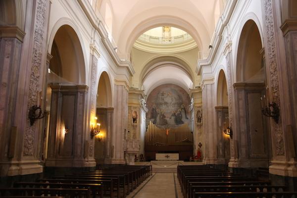 Interior Basílica Señora del Rosario